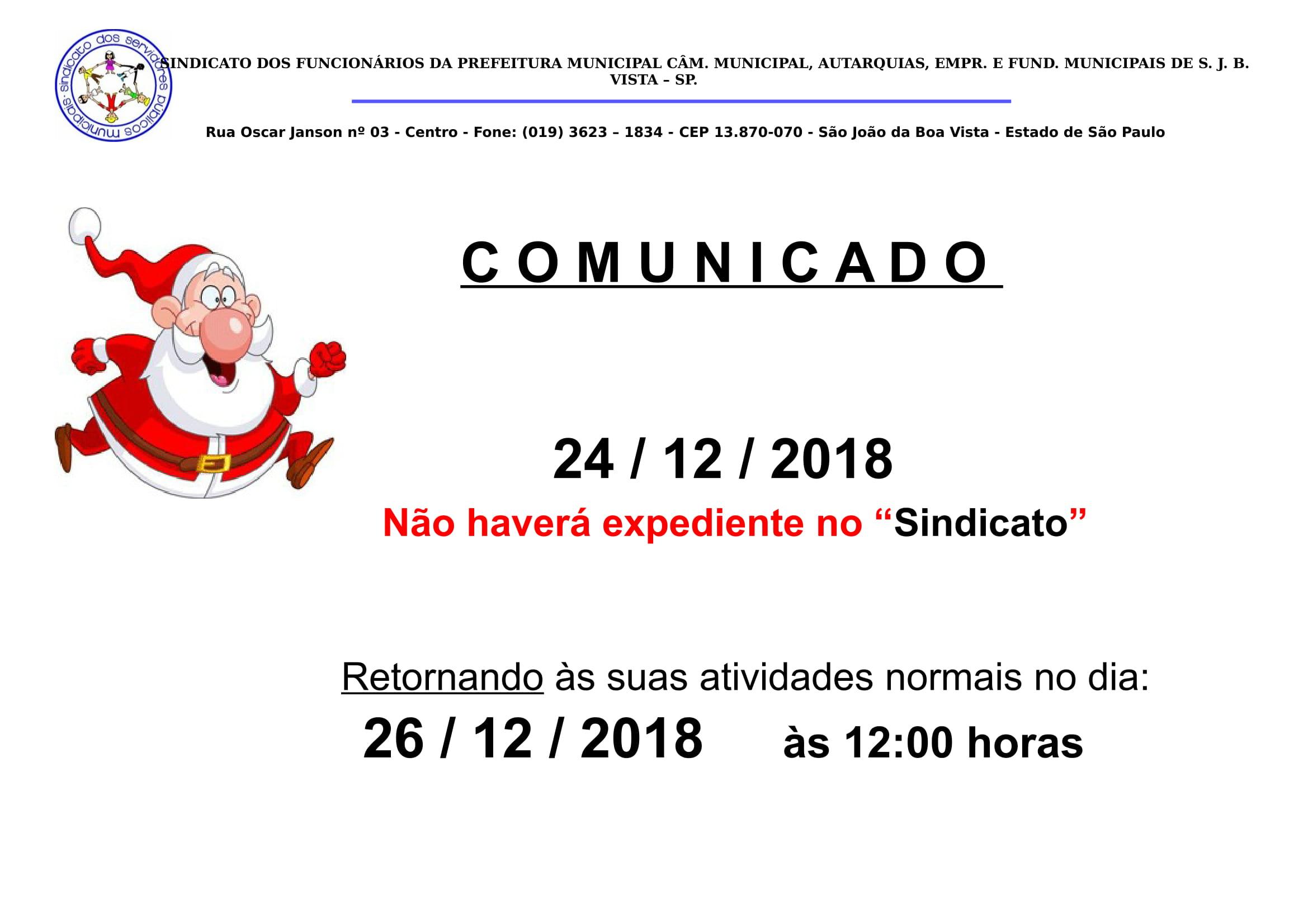comunicado n_a_n